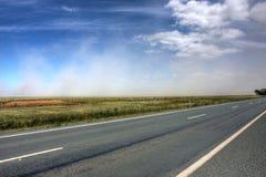Tempête de poussière Photo stock