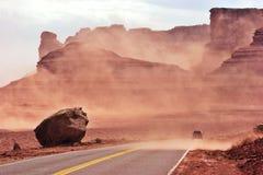 Tempête de sable Images stock