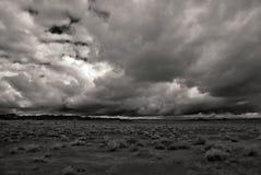 Tempête du désert monochrome images libres de droits