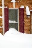 Tempête du février 2010 Image stock