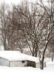 Tempête du février 2010 image libre de droits