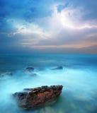 Tempête en mer images libres de droits
