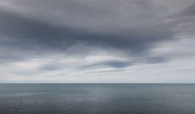 Tempête en mer Photo libre de droits