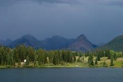 Tempête excessive de montagne Image libre de droits