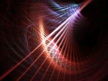 Tempête linéaire colorée Image libre de droits