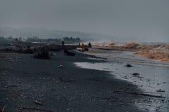 Tempête sur la Mer Noire Batumi la Géorgie photo stock