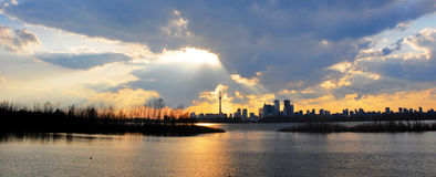 tempête Toronto Photographie stock libre de droits