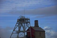 Tempêtes au-dessus des mines de bidon Image libre de droits