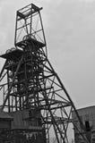 Tempêtes au-dessus des mines de bidon Photo libre de droits