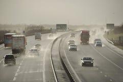 2014 tempêtes BRITANNIQUES Photos libres de droits