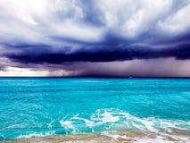 Tempêtes de Cancun images libres de droits