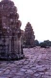 temp εκκέντρων angkor bakheng phnom wat Στοκ Φωτογραφία