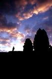 temp εκκέντρων angkor bakheng phnom wat Στοκ φωτογραφίες με δικαίωμα ελεύθερης χρήσης