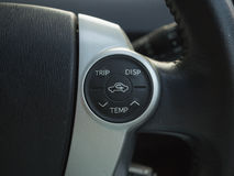 Temp control button Royalty Free Stock Images