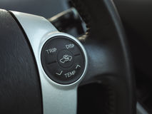 Temp control button Royalty Free Stock Photography