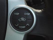 Temp control button Stock Photos