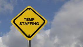 Temp staffing stock footage