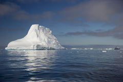 Tempanos en la peninsula Antartica royalty free stock images
