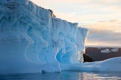 Tempanos en la peninsula Antartica. Tempanos in the Weddell Sea in the Antarctic peninsula royalty free stock image