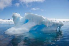 Tempanos in the Antarctic peninsula. stock photography