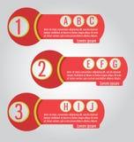 Tempate Può essere usato per il infographics, i siti Web, i pacchetti, adver royalty illustrazione gratis