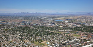 Tempe, Arizona from above Stock Images