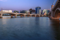 Tempe Arizona At Blue Hour Royalty Free Stock Photography