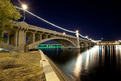 Tempe Arizona Bridge Royalty Free Stock Photos
