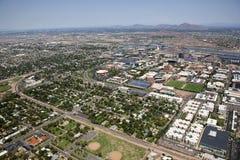 Tempe, Arizona da sopra Fotografia Stock Libera da Diritti