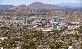 Tempe Arizona horisont Royaltyfri Fotografi