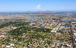 Tempe, Arizona Linia horyzontu Fotografia Royalty Free
