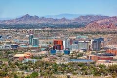 Free Tempe, Arizona Skyline Growing Up Royalty Free Stock Photos - 216882798