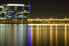 Tempe Arizona skyline at night Stock Photography