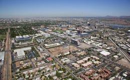 Tempe, Arizona von oben stockfotografie