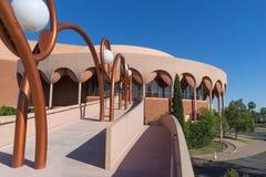 Tempe AZ, Juni 1st, 2016 Grady Gammage Memorial Arkivfoto