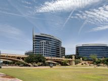 Tempe Lakeside Business Center Royalty Free Stock Images