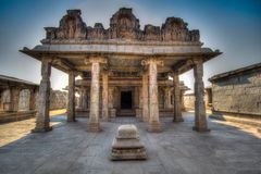 Tempe Hampi. Real old temples in Hampi (india royalty free stock images