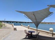 Tempe Lake Recreation Spot Foto de Stock