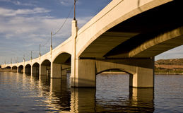 Tempe Mill Avenue Bridge Royalty Free Stock Photos