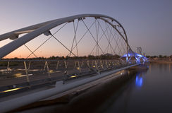 Tempe Pedestrian Bridge Stock Image