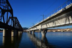 Tempe river Royalty Free Stock Image