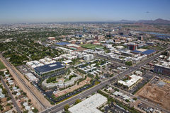 Tempe Skyline Royalty Free Stock Photos