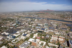 Tempe Skyline Fotografia de Stock Royalty Free