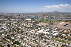 Tempe Skyline Royalty Free Stock Image