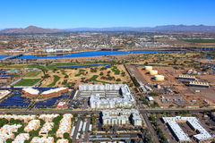Tempe Town Lake North View Stock Photography