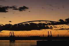 Tempe Town Lake Sunset Royalty-vrije Stock Foto
