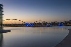 Tempe Town Lake at Sunset Royalty Free Stock Photos