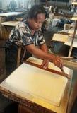 Tempeh тофу и сои обрабатывает сои для того чтобы находиться вне на домашней фабрике Стоковое Фото