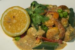Tempeh oceanu curry zdjęcie stock
