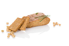 Free Tempeh On White. Royalty Free Stock Photography - 77348247